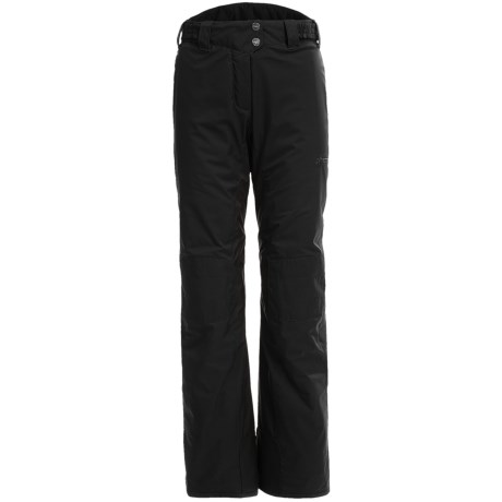 Phenix Rose Waist Ski Pants - Insulated (For Women) in Black