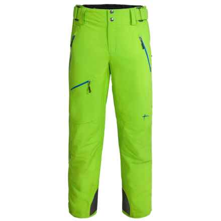 Phenix Songe 2L Ski Pants - Waterproof, Insulated (For Men) in Yellow Green - Closeouts