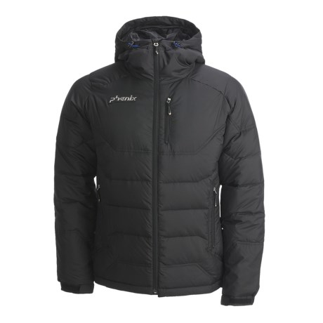 Phenix Swift Down Jacket - 600 Fill Power (For Men) in Black