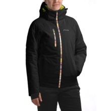 Phenix Wild Flower Jacket - Waterproof, Insulated (For Women) in Black - Closeouts