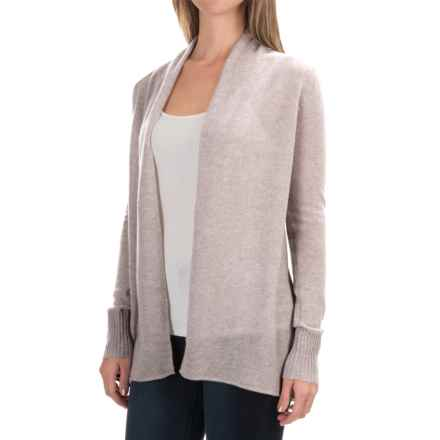 Philosophy Cashmere Cardigan Sweater (For Women) in Grain Heather - Closeouts