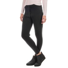 Philosophy Cashmere Drawstring Leggings (For Women) in Black - Closeouts