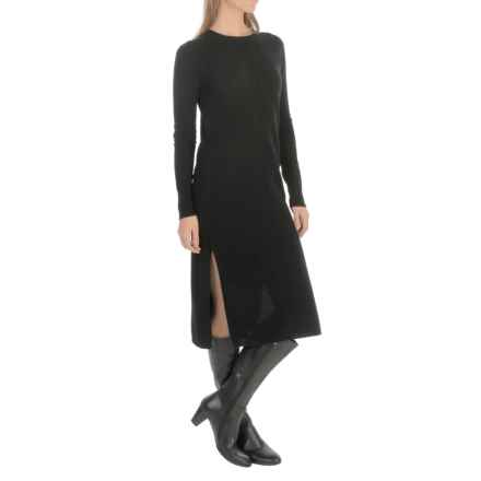Philosophy Cashmere Sweater Dress - Long Sleeve (For Women) in Black - Closeouts