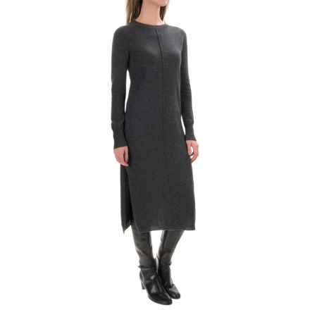 Philosophy Cashmere Sweater Dress - Long Sleeve (For Women) in Chalkboard Heather - Closeouts