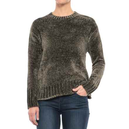 Philosophy Chenille Sweater (For Women) in Olive - Closeouts