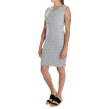 Philosophy Cotton Jersey Dress - Sleeveless (For Women) in Print - Overstock