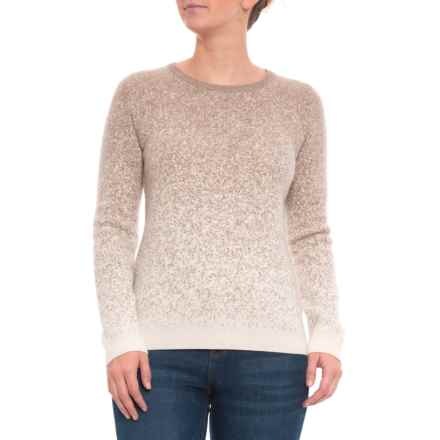 cdfbb4a8817d7a Philosophy Ombre Jacquard Pullover Sweater - Cashmere (For Women) in Taos  Heather Vintage
