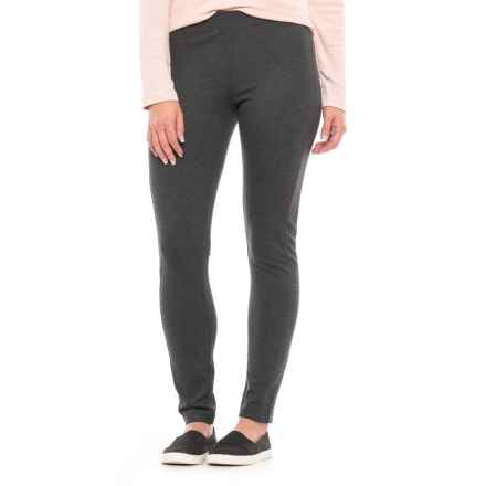 Philosophy Side-Panel Ponte Leggings (For Women) in Heather Graphite - Closeouts