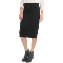 Philosophy Space-Dyed Pencil Skirt (For Women) in Black/Ivory - Overstock