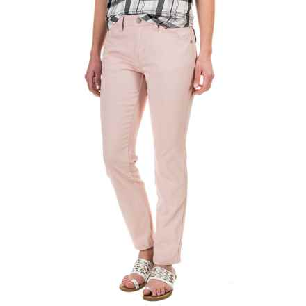 Philosophy Stretch Twill Ankle Pants (For Women) in Blush - Closeouts