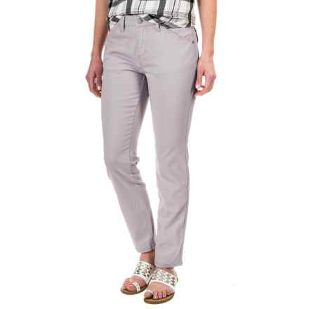 Philosophy Stretch Twill Ankle Pants (For Women) in Grey Treak - Closeouts