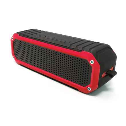 Photive S6 Rugged Bluetooth® Speaker in Red - Closeouts