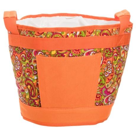 Picnic Plus Austin Table Top Cooler in Orange
