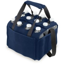 Picnic Time 12-Pack Neoprene Cooler/Tote Bag in Navy - Closeouts