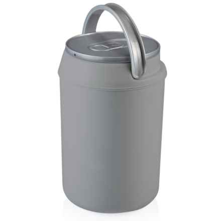 Picnic Time 4L Mini-Can Cooler in Silver - Closeouts
