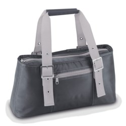 Picnic Time Alexis Lunch Tote Bag - Insulated in Grey