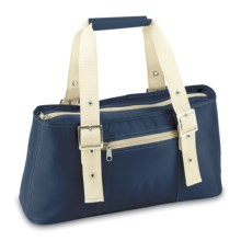 Picnic Time Alexis Lunch Tote Bag - Insulated in Navy - Closeouts