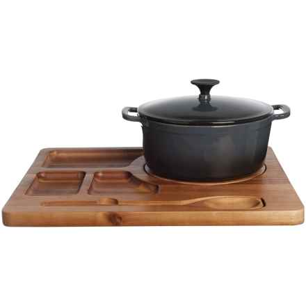 Picnic Time Dutch Oven Station in See Photo - Closeouts