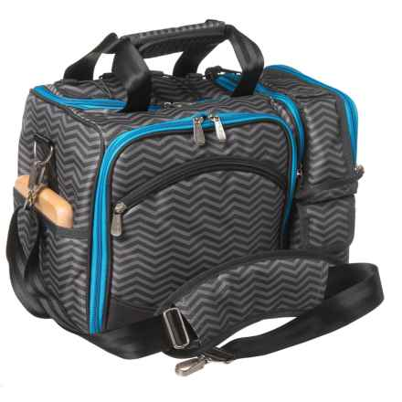 Picnic Time Laguna Picnic Tote Bag for Two in Waves - Closeouts