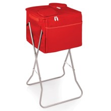 Picnic Time Party Cube Cooler - 72-Can Capacity in Red - Closeouts