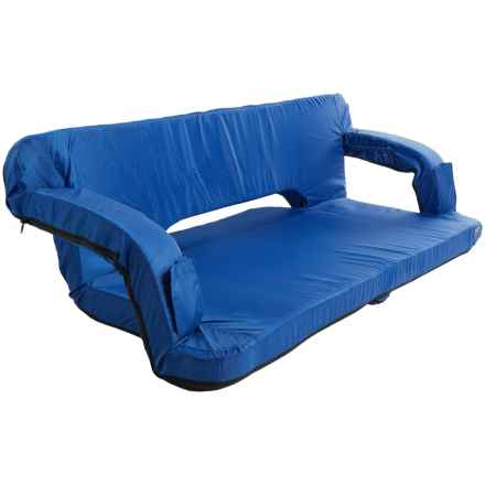 Picnic Time Reflex Portable Travel Couch in Royal Blue - Closeouts