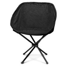 Picnic Time Sling Chair in Black - Closeouts