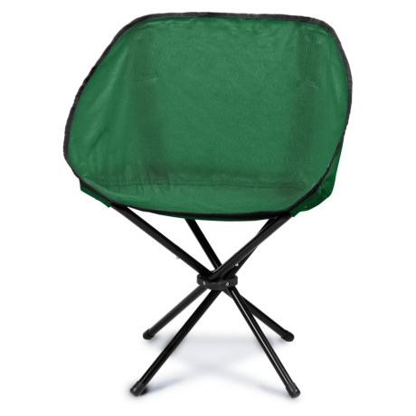 Picnic Time Sling Chair in Hunter Green