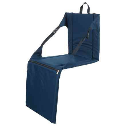 Picnic Time Stadium Seat in Navy - Closeouts