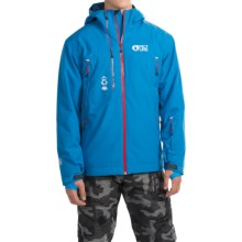 Picture Base Ski Jacket - Waterproof, Insulated (For Men) in Blue - Closeouts