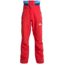 Picture Base Ski Pants - Waterproof, Insulated (For Men) in Red - Closeouts