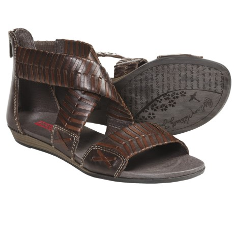 Pikolinos Alcudia Gladiator Sandals (For Women) in Dark Brown