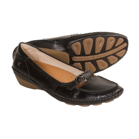 Pikolinos Asturias Comfort Shoes - Mary Janes (For Women) in Neg/Black