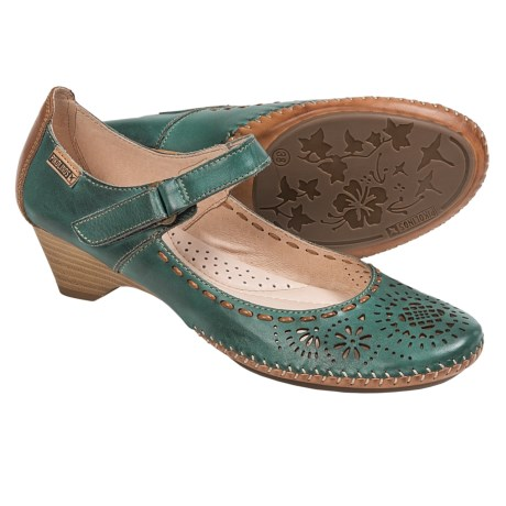 Pikolinos Bariloche Leather Pumps (For Women)