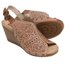 Pikolinos Benissa Wedge Sandals - Leather (For Women) in Nude - Closeouts