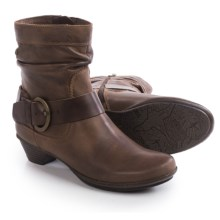 Pikolinos Brujas Ankle Boots - Leather (For Women) in Chocolate - Closeouts