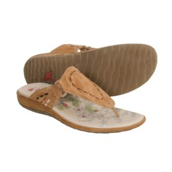 Pikolinos Costa Rica Sandals - Leather (For Women) in Crema