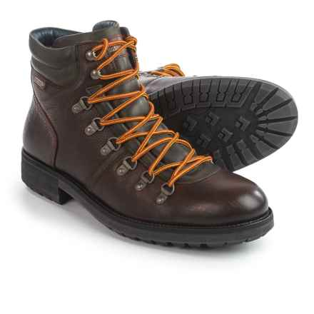 Pikolinos Ellesmere Leather Boots (For Men) in Dark Brown - Closeouts