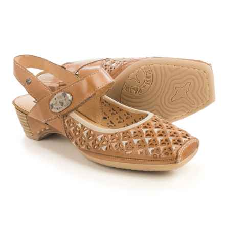 Pikolinos Gandia Mary Jane Shoes - Leather (For Women) in Nude - Closeouts