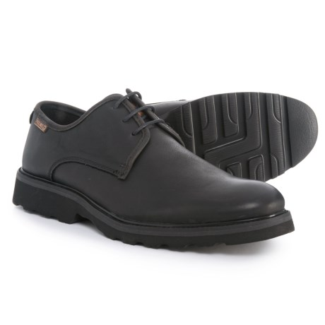 Pikolinos Glasgow Oxford Shoes - Leather (For Men) in Black
