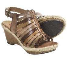 Pikolinos Gomera Wedge Sandals - Leather (For Women) in Light Pink - Closeouts