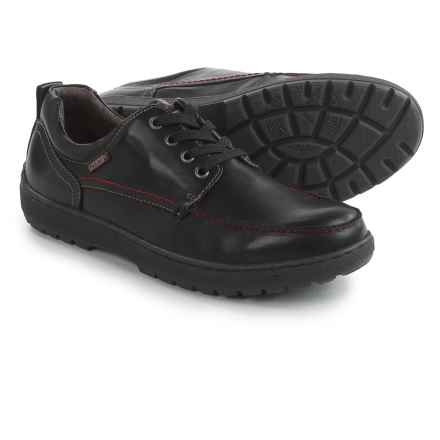 Pikolinos Kiev Lace-Up Shoes - Leather (For Men) in Black - Closeouts