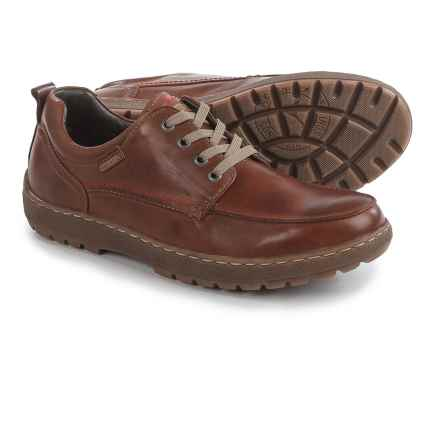 Pikolinos Kiev Lace-Up Shoes - Leather (For Men) in Tan - Closeouts