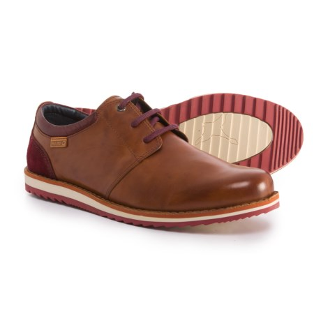 Pikolinos Made in Spain Biarritz Oxford Shoes - Leather (For Men) in Red Brown