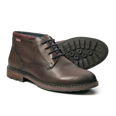 Pikolinos Made in Spain Caceres Chukka Boots - Leather (For Men) in Brown