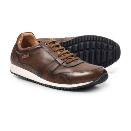 Pikolinos Made in Spain Liverpool Sneakers - Leather (For Men) in Tan - Closeouts