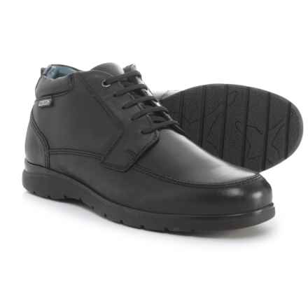 Pikolinos Made in Spain San Lorenzo Boots - Leather (For Men) in Black - Closeouts