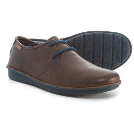 Pikolinos Made in Spain Santiago Shoes - Leather (For Men) in Brown - Closeouts