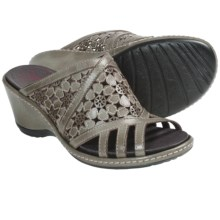 Pikolinos Malta Sandals - Wedge (For Women) in Olive - Closeouts