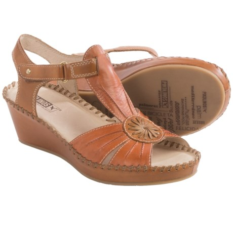 Pikolinos Margarita Sandals Leather, Wedge Heel (For Women)