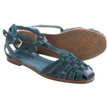 Pikolinos Menorca 7517 Leather Sandals (For Women) in Ocean - Closeouts